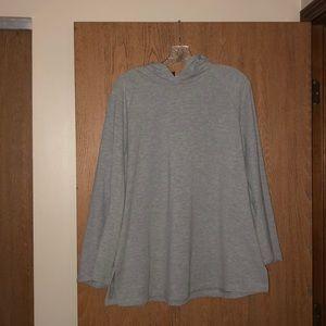 4/$30 SALE! EUC 14/16 Eloquii gray sweatshirt